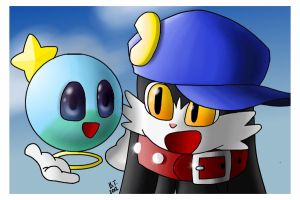 Klonoa and Huepow 2 by BThomas64
