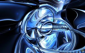 Midnite Blue - Wide - 2 by Ingostan
