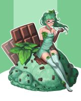 Chocolate Mint - Hallie by doghateburger