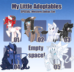 My Little Adoptables: West Zodiac pt. 1 [closed!] by Narrowed