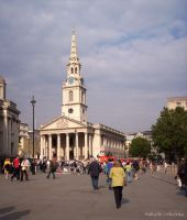 Trafalgar Square, London by MaRyS90