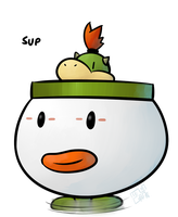 Bowser Jr. by MelonConCarne