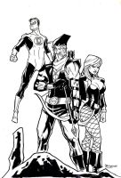 DC3: Hard-Traveling Heroes by guinnessyde