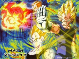 Majin Vegeta wallpaper by sEbeQ13