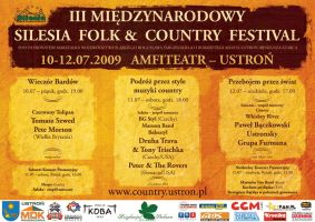 silesia folk + country poster by forty-winks