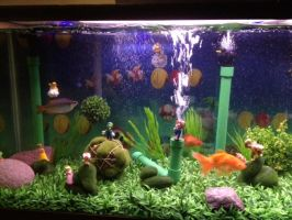 Mario fish tank (8) by bookchick6