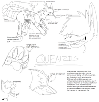 !!OPEN SPECIES!! quenzils by Daft-Waffle