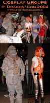 DragonCon 2004: Group Cosplay by CanisCamera