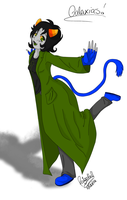 [Homestuck] Galaxis! Nepeta Finished by kilala1148