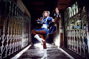 Street Fighter - Chun-Li by serinanires