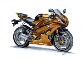 Yamaha R6 by vsdesign69