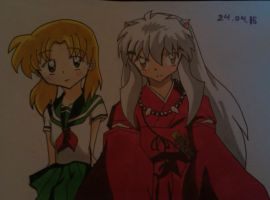 Inuyasha and me ^^ by kagomeh202