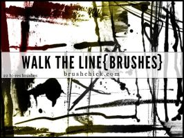 Walk the Line Brush Pack by brushchick