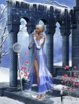 The Winter Queen Waits by jujukittychick