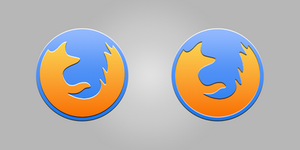 Firefox Yosemite icon by TigerCat-hu