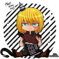 DN - Happy Birthday Mello! 12/13 by DaphInteresting