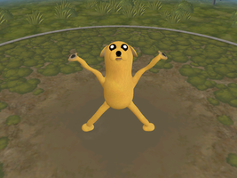 Spore - Jake the Dog by Pyroraptor42