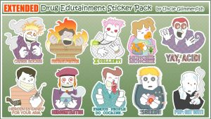 EXTENDED Drug Edutainment Pack by glimmerfish