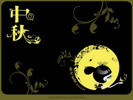 mid-autumn festival -wallpaper by imququ
