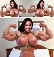 Miss AZ muscular development by Turbo99
