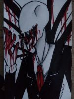 Creepypasta Fanart: Slender Man by NexusFallen13