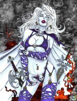Lady Death Tribute to Candra by CDL113