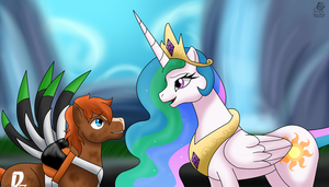 Pegasi: ''You did something amazing.'' by Aileen-Rose