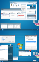 Windows 8 RP+RTM - Theme for Windows 7 by Rammist