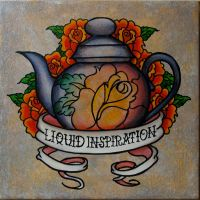 teapot by CuthbertMcNasty