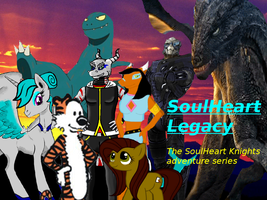 SoulHeart Legacy Adventure series title by TylerthDragon