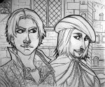 ezio and leo by Shaphan