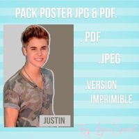 Pack Poster Justin Bieber by AgussSweet