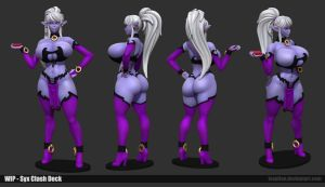 Syx Clash Wip 02 by Texelion
