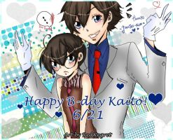 Happy B-day Kaito by RedRegret