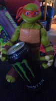 mikey took my monster drink by WolffangMireiyu