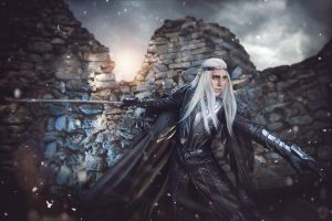 Attack on Thranduil by TheIdeaFix