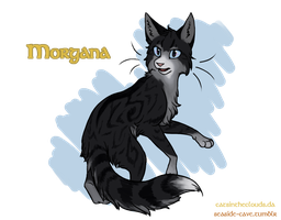 Cats of Camelot: Morgana by CatsInTheClouds