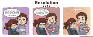Resolution 2012 by michielynn