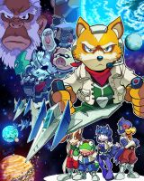 Star Fox by herms85
