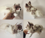 SOLD Lilac Frost fox - small floppy by goiku