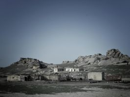 Village in Gobustan by Dogbytes