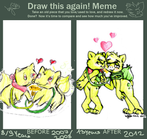 Draw this again! meme 2007-2012 by skrollmon