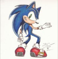 Sonic X Coloring Style by SonicBornAgain