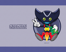 Sonic Channel Bokkun Wallpaper by E-122-Psi