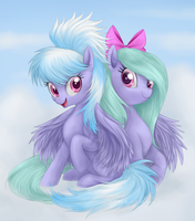 Cloud n Flitter by Mn27