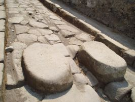 Ancient Roman Crosswalk by nanjari