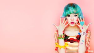 SUNNY [KISS ME BABY-G] WALLPAPER 1920 X 1080 by ExoticGeneration21