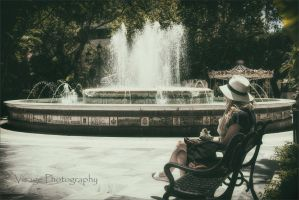 Lady in the Park by GJ-Vernon