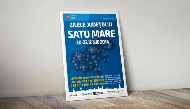 Satu Mare County Days - Poster by atty12