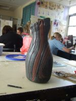 Natural Forms Pot by PsychoLornie